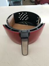 Power AirFryer XL 5QT Vortex Air Fryer REPLACEMENT BASKET In RED