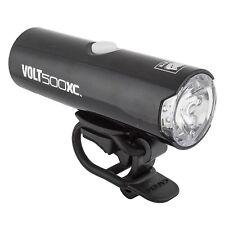 Cateye Hl-El080Rc Volt 500Xc Lights  - Black - 4 - Front - Silicone Strap - Usb
