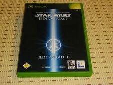 Star Wars Jedi Outcast Jedi Knight II 2 para Xbox * embalaje original *
