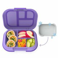 Bentgo Kids Chill Lunch Box - Bento-Style Lunch Solution with 4 Compartments ...