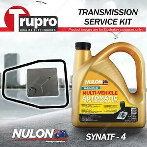 SYNATF Transmission Oil + Filter Service Kit for Volvo 740 760 Sedan Wagon