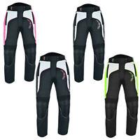 Ladies Motorbike Trousers Motorcycle Waterproof Cordura Textile  Armours Pants