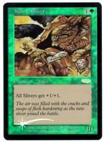 Muscle Sliver - Friday Night Magic Promos - FOIL - MTG Magic - NM/EX