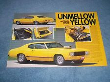 "1971 Chevelle Vintage Pro Street Article ""Unmellow Yellow"""
