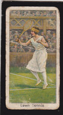 Trade card  Turf - Sports Records 30  1923 Wimbledon Lawn Tennis winner