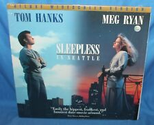 SLEEPLESS IN SEATTLE LASERDISC COLUMBIA TRISTAR HOME VIDEO 1993 LASER DISC
