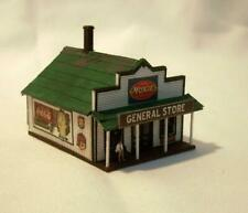 N Scale Train Layout General/Country Store Building Structures Built