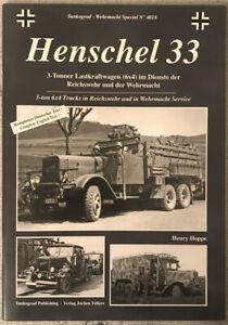 tankograd-Wehrmacht Special No 4018 Henschel 33