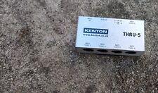 Kenton Thru-5 MIDI splitter (on to five)