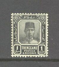 Malaysia Trengganu 1921 Sultan Suleiman 1c, SG26, Very Fine Used