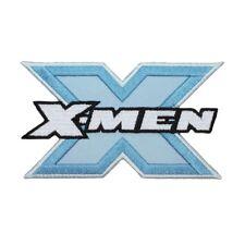 X-Men Blue Steel Logo Patch Superhero Mutant Team Marvel Comics Iron-On Applique