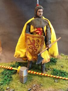 "CUSTOM 12"" ROBERT THE BRUCE, KING OF SCOTS, 1/6 DISPLAY SET."
