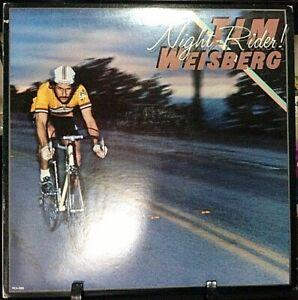 TIM WEISBERG Night Rider 1979 Album Released 1979 Vinyl/Record  Collection US