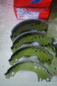 BS837 New QH Rear Brake Shoes Renault 5 9 11 21