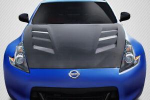 09-19 Fits Nissan 370Z AMS Carbon Fiber Creations Body Kit- Hood!!! 114386