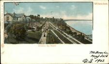 Milwaukee WI Whitefish Bay Resort c1900 Used Private Mailing Card