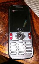 Huawei U2800A - Black (AT&T) GoPhone Prepaid Cellular Phone