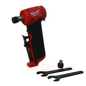 Milwaukee M12FDGA-0 12V Li-ion Cordless Fuel Right Angle Die Grinder - Skin Only