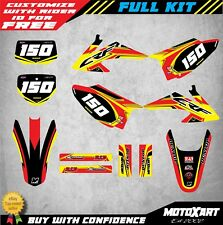 Custom Graphics Full Kit to Fit Honda CRF 230 F 2008 - 2014 Flow STYLE stickers