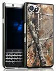 Camo Leaf Tree Real Woods Hunt Kickstand Case Hard Cover for BlackBerry KEYone