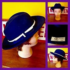 Fedora/Trilby 100% Wool Vintage Hats for Women