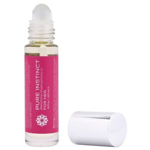 Pure Instinct Roll-On Pheromone Infused OIL Perfume FOR HER .34Oz