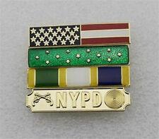 Collection Gift Uniform Police Service Citation Bar NYPD Bar-Four Bars Pin Badge