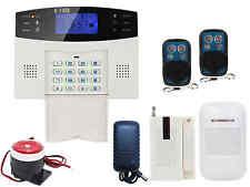 A32 Quad-Bands GSM Wireless DIY Home Alarm Burglar Security System Easy Install