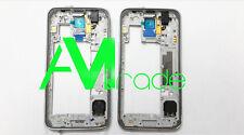 Cornice laterale Scocca Samsung S5 G900 ARGENTO COMPLETA Ricambio Middle frame