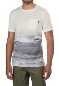 NEW NWT HIPPYTREE Hippy Tree BROOKHURST TEE SHIRT T-Shirt Mens White Size XL