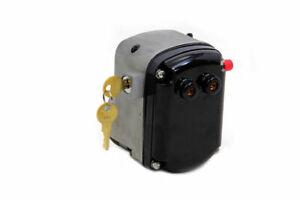 Complete Replacement Burkhardt Magneto Head Key Lock Harley Big Twin & Sportster