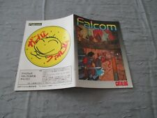 >> falcom 1986 catalog 32 pages original japan msx computer software! <<
