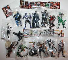 Masked Rider Kamen Figures x 14 2002 2003 Japan Bandai Snap Together Figures