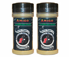 Jalapeño Powder Chili Pepper Spice Gift Amigo Chili Powder 2 bottles x 1.5 oz