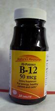 Best Deal Get TWO (2) Nature's Measure - Vitamin B-12 (50 mcg) 30 count = 60