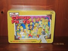 Simpsons Group Photo card game in tin