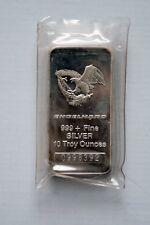 10 oz  ENGELHARD .999 Fine Silver Bar (EAGLE)