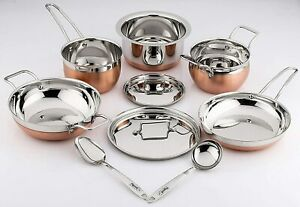 Pigeon Neo Copper Kitchen Cookware Set -9 pcs uk