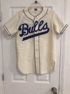 ebbets field flannels Bulls baseball jersey
