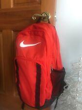 Gently Used Orange Nike Backpack