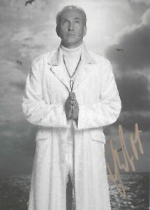 JOACHIM WITT original signiert – GROSSFOTO !!!