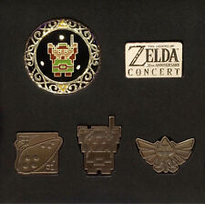 The Legend of Zelda's 30th Anniversary Concert Commemorative Pin Set Pins F/S