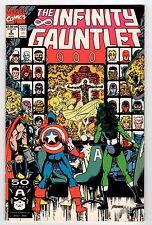 Marvel INFINITY GAUNTLET #2 1991 NM Vintage Comic