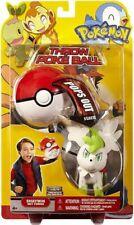 Pokemon HeartGold & Soulsilver HS Series 14 Shaymin Throw Poke Ball Plush