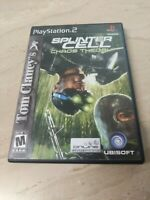 Tom Clancy's Splinter Cell Chaos Theory PlayStation 2 PS2 Ubisoft