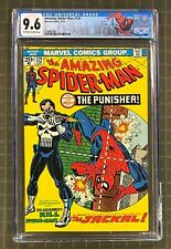 AMAZING SPIDER-MAN #129 Marvel Comics 1974 CGC 9.6 Punisher 1st Appearance RARE