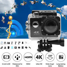 Waterproof Ultra 4K Full HD 1080P Sports Camera WiFi Action Camcorder Go as Pro