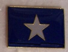 Hat Lapel Push Pin Tie Tac Confederate CSA Bonnie Blue Flag NEW