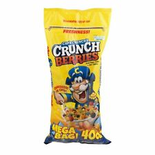 ( 6 Bags ) Cap'n Crunch's Crunch Berries Sweetened Corn & Oat Cereal Snack 40 Oz
