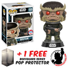 FUNKO POP STAR WARS ROGUE ONE BISTAN NYCC 2016 EXCLUSIVE + FREE POP PROTECTOR
